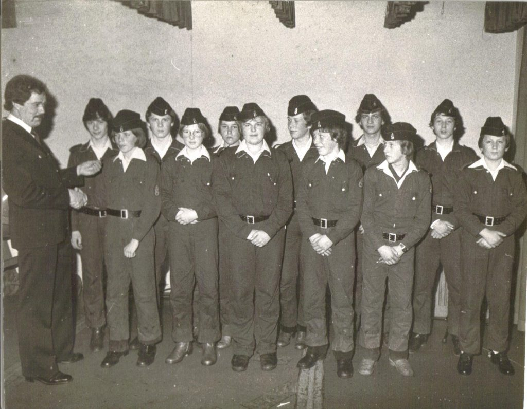 Archivbild der Jugendfeuerwehr Nittel.